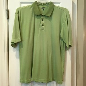 Pebble Beach green polo golf shirt